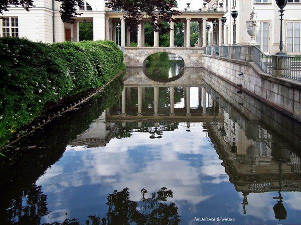 łazienki Królewskie Pałac Na Wodzie Fotoblog Jolanflogpl